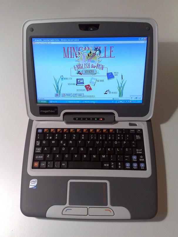 Mingoville on Maggellan Classmate PC
