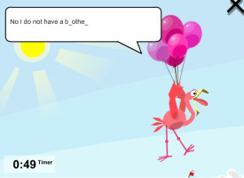 BalloonBlaster - practice English spelling, writing and listening
